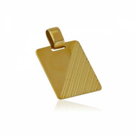 Златни висящи обеци със двулицеви сърца