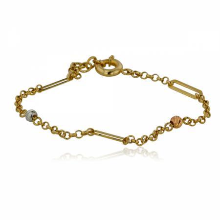 Златен пръстен с син камък 402.84 лв.