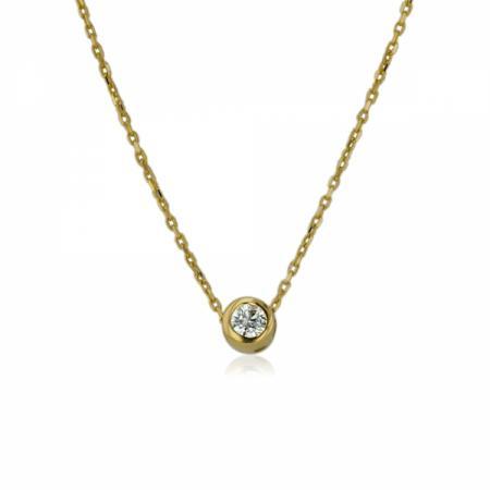 Класически годежен пръстен с диамант 1,812.00 лв.