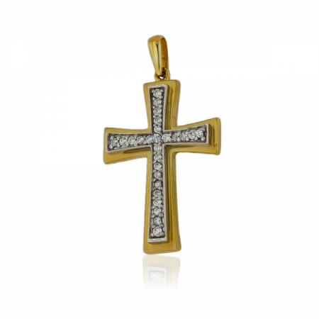 Златен пръстен с циркон за годеж 226.00 лв.