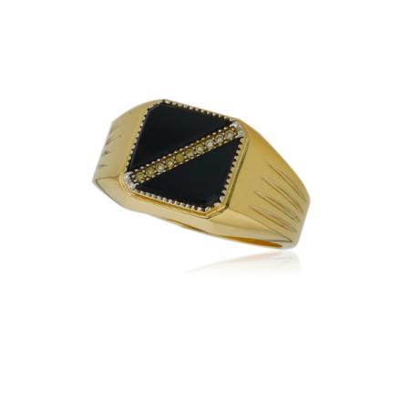 Удобни златни обеци с правоъгълник