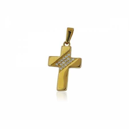Висулка от бяло злато и циркон  под формата на дърво  180.36 лв.
