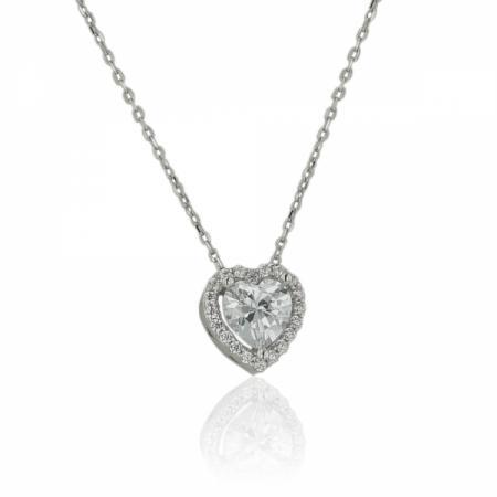 Нежен пръстен от бяло злато 186.00 лв.