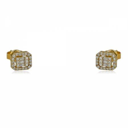 Нежен модел златен пръстен с централен камък 375.00 лв.