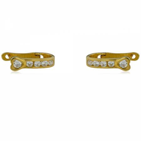 Златен пръстен с сапфир и диаманти 2,002.00 лв.