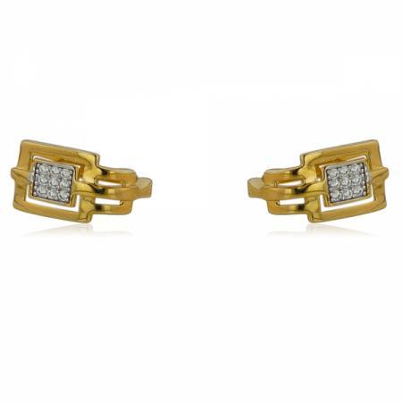 Изискан модел златен пръстен с перла 307.00 лв.