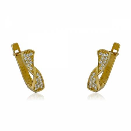 Комплект обеци и пръстен от розово злато 495.72 лв.
