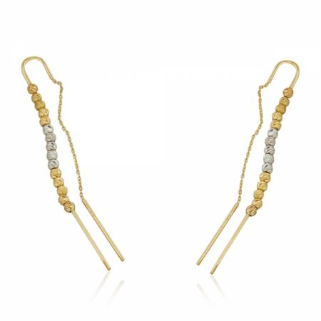 Асиметричен пръстен от бяло злато 206.28 лв.