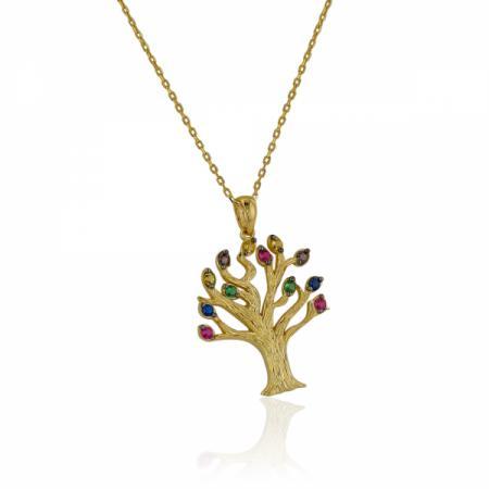 Детски златни обеци с форма на капка