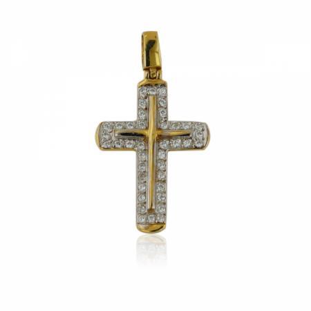 Блестящ пръстен от бяло злато 512.00 лв.