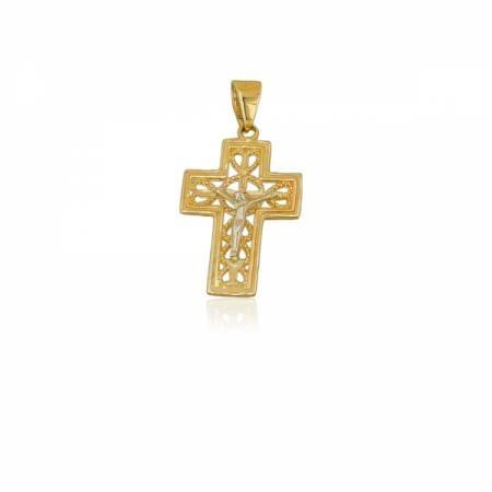 Златни обеци с зелен камък 93.96 лв.