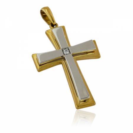 Нежен годежен пръстен от жълто злато 168.00 лв.