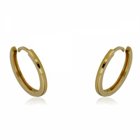 Колие от злато с буква А