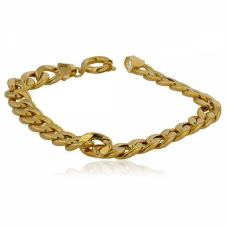 Малки златни обеци на винт като петоъгълник