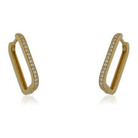Златни обеци морски звезди