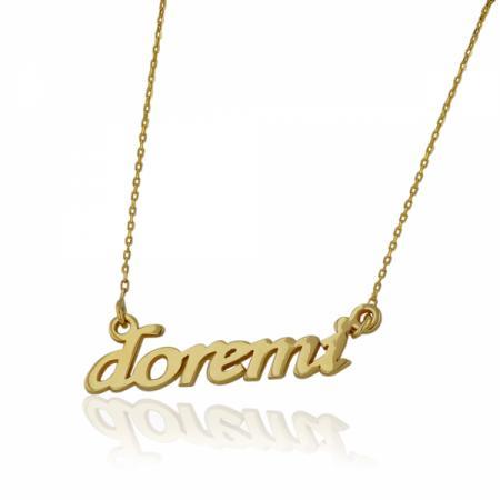 Двулицев златен медальон с Исус и Богородица