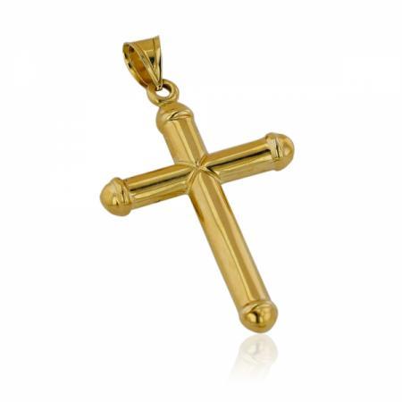 Златни обеци халки със сърца