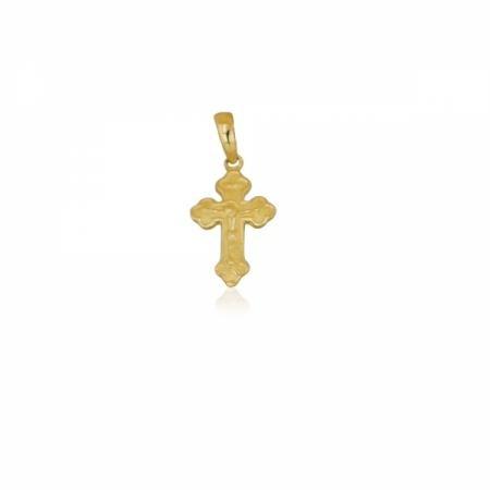 Класически кръст с бяло и жълто злато 256.00 лв.