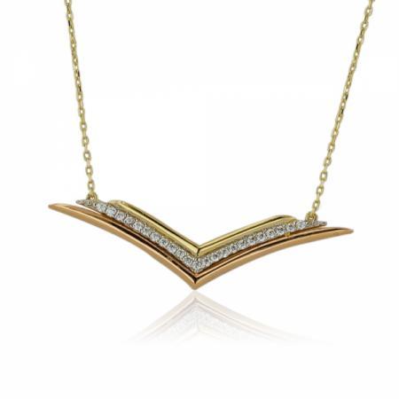 Богат пръстен от жълто злато 558.00 лв.
