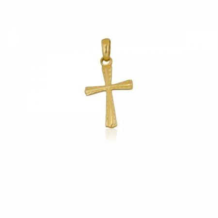 Класически златен кръст с един цирконий  101.00 лв.
