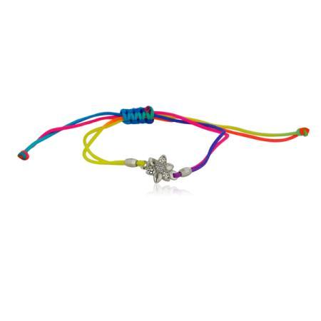 Тънка златна халкичка с малки циркони