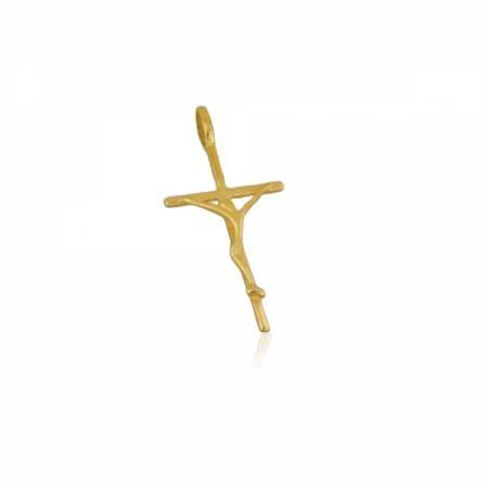 Златен кръст обемен с камъчета 522.00 лв.