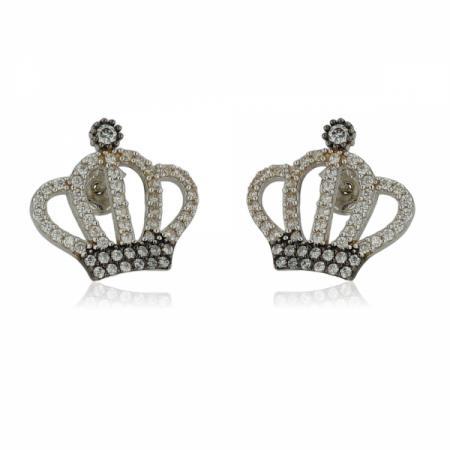 Златни брачни халки с шахматно разположени елементи 719.28 лв.