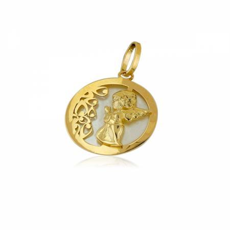 Класически халки бяло злато с лента от жълто злато 1,138.00 лв.