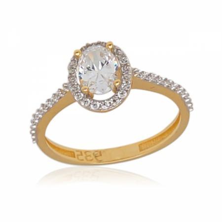 Комплект златни обеци, колие и пръстен 817.56 лв.