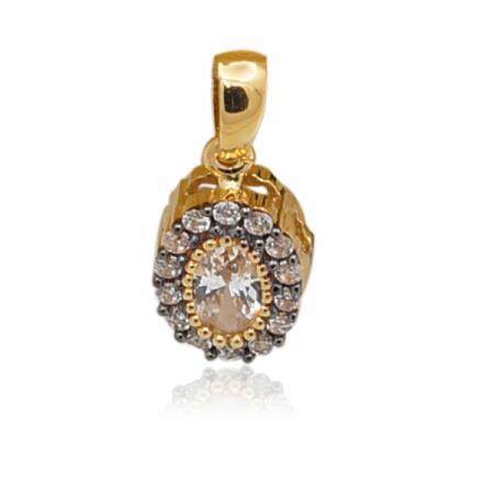 Комплект златна висулка, пръстен и обеци 364.00 лв.