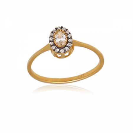 Комплект златна висулка, пръстен и обеци 532.44 лв.