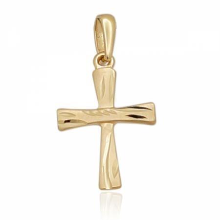 Кръст от жълто злато с декорация 0.00 лв.