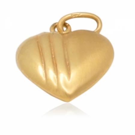 Златно сърце двулицево кухо 103.00 лв.
