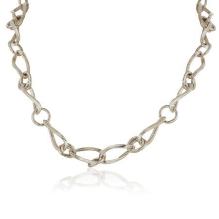Сребърен нежен пръстен