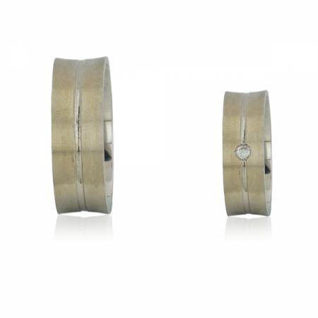 Сребърен пръстен с подвижни халки с циркони 108.00 лв.