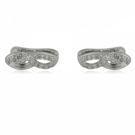 Сребърна висулка във формата на цвете