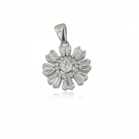 Сребърен пръстен за нежни пръсти