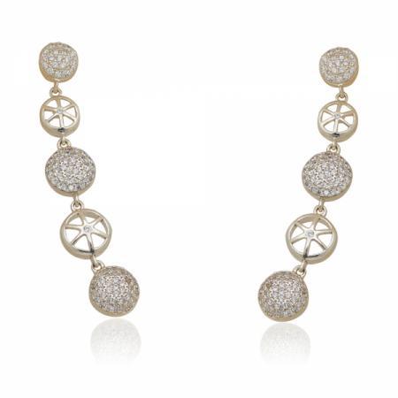 Сребърен пръстен с много голям камък