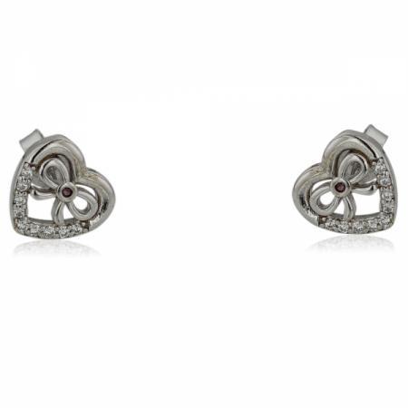 Сребърен пръстен с малки дъгички