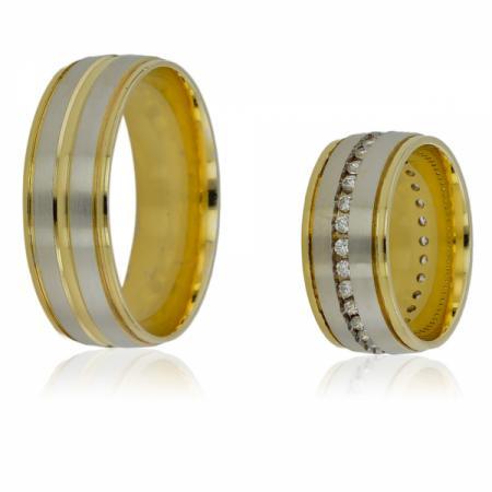 Двоен сребърен пръстен