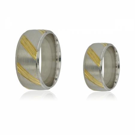 Сребърна пръстен с касичка като ветрило