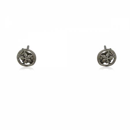 Сребърен пръстен с овален камък