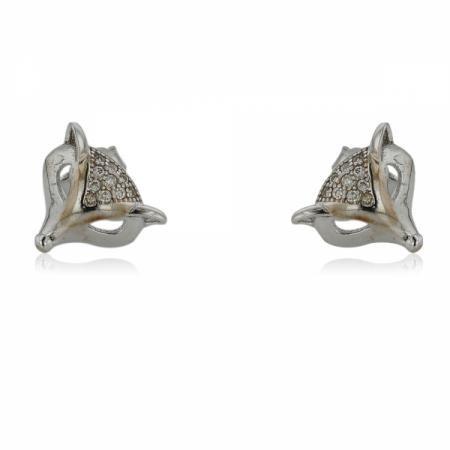Сребърен пръстен с камъче в кръг