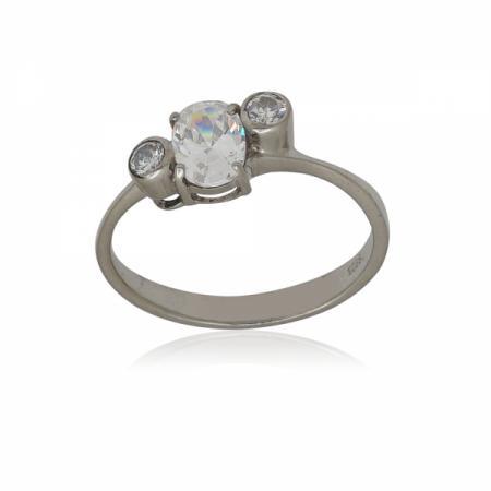 Сребърен пръстен с арт визия
