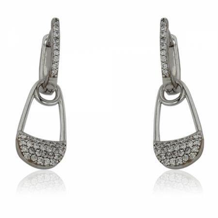 Преплетен пръстен с хематит