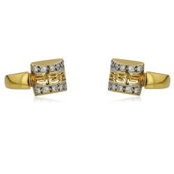 Изящен златен годежен пръстен 554.00 лв.