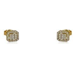 Нежен модел златен пръстен с централен камък 325.00 лв.
