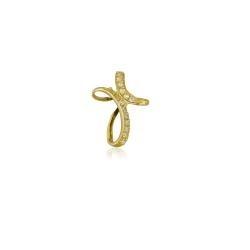 Буква Д в сърце на гривна с червен конец