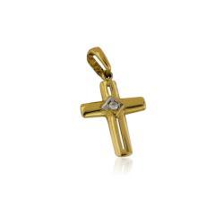 Златна и нежна детелина на червен конец