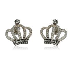 Златни брачни халки с шахматно разположени елементи 566.00 лв.
